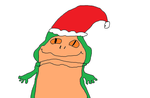 Jabba with Santa hat by Simpsonsfanatic33