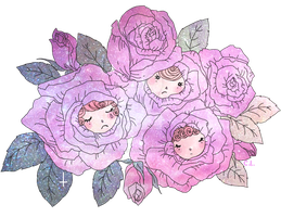 Rose Buds by therottenvelveteen