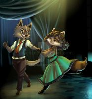 Swing Dance by Tsuchan