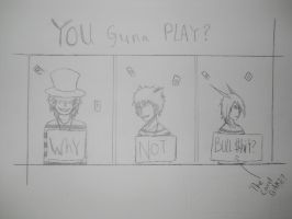 U guna PLAY? by kusakaice