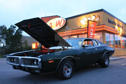 1973 Dodge Charger 440 R/T by D-Miles