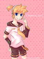 AT: Kagamine Len by starfire-wolf