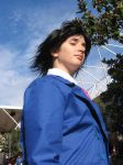 Spikey-headed lawyer cosplay by crimsontriforce
