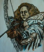 Ygritte from Game of Thrones by DustyPaintbrush
