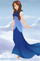 Formal Kara in Korra's Time -Snow Queen game by LoveOrMadness