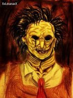 Texas Chainsaw Massacre: Leatherface -Portrait- by XxLevanaxX