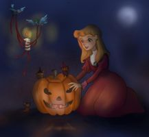 Happy Halloween, Cinderella! by ThEsIlKe