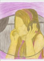 Emily Osment Drawing - Edited by xAdorkablexDorkx