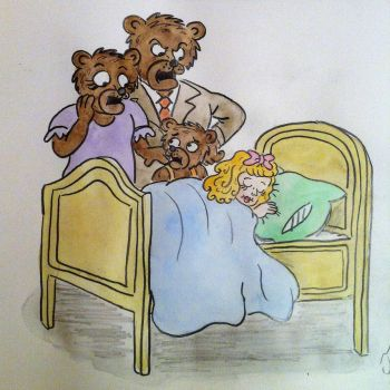 The Story of the three Bears by Drawing-Count