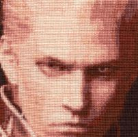 Vergil - Cross Stitch Commission by shingorengeki