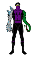 Monster Hands Man - Redesign Again by Mijder