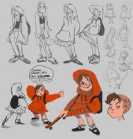 Red Riding Hood Concepts by Mooknar