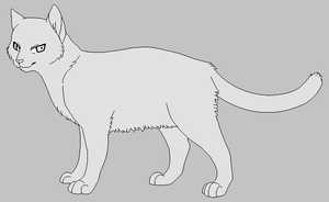 FREE Cat Lineart by Sligslogg