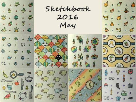 Sketchbook 2016 - May by Charmyto