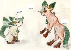 The Fall: Leafeon Costume by FoxOFWar