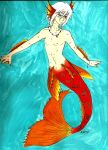 Merman by LedyRaven