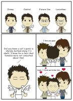 The Return of Castiel by mishlee