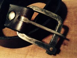 Forged Belt Buckle by AshTheRebelFox