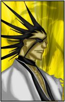 Zaraki Kenpachi by Salty-art