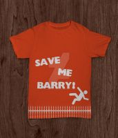 Misfits - Save me, Barry! by radiounactive