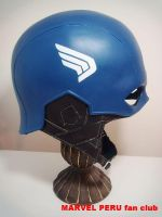 Captain America Helmet_04 by raultumba