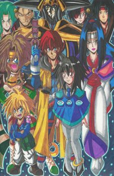Outlaw Star: Gonna make it big! by d13mon-studios