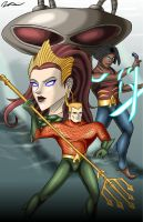 Aquaman by M-Milburn