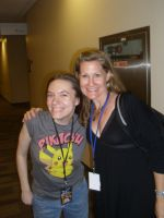 Me and Veronica Taylor by PokemonTrainerLisa