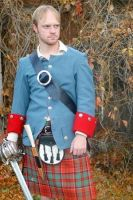 HighlandMan's Kilt and Jacket by HistoricCostume