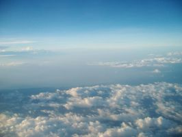 Sky from above 2 by bumimanusiastock