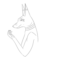 Lineart by Ask--Anubis