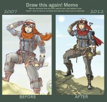 Improvment Meme 2007-2012 by Hunter-Wolf