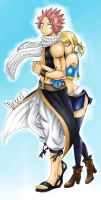Natsu and Lucy - I'm by your side by MEMIsWonderwall