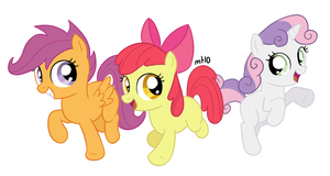 Cutie Mark Crusaders by empty-10