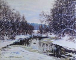 Small river arrived by peterberg2006