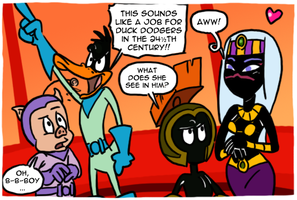 Duck Dodgers by theEyZmaster