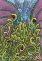 ACEO Cthulhu 03 by rachaelm5