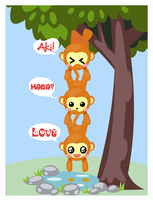 Monkeys. by Tamabit