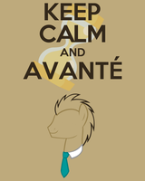 Keep Calm and Avante by thegoldfox21