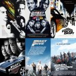 Six Fast and the Furious films (2001-2013) by ESPIOARTWORK-102