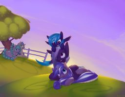 Commission: Family Portrait by Eosphorite