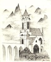 Mountain Cathedral by theDeathspell