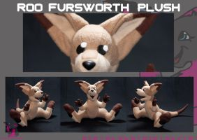 Roo Fursworth - Plush commission by FurryFursuitMaker
