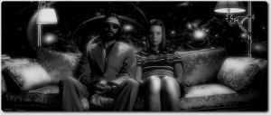 MARGOT AND RITCHIE FLOATING by PUSHER-ARTS
