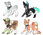 Dope dog auction! (OPEN!) by Lodidah