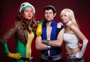 X-men grup cosplay by Ophi89
