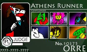 Judge - Athens Runner by Pokemon-League