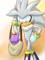 [OHS] Silver and a Cat by tabiki999