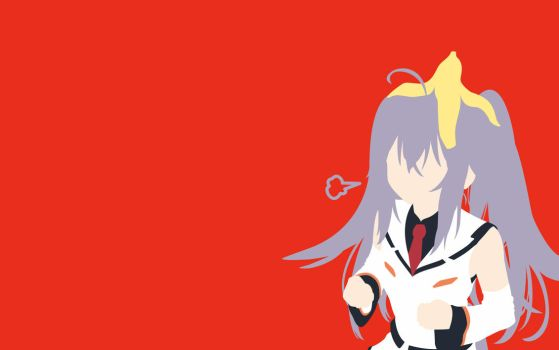 Isla (Plastic Memories) Minimalist Wallpaper by Skafandra206