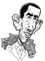 Barack 'Barry Soetoro' Obama by DavidAyala